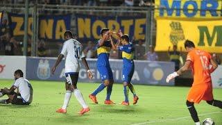 Gol de Federico Carrizo - Boca vs. Emelec - Amistoso