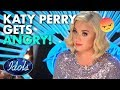 KATY PERRY ROARS AND GETS ANGRY Destroying The American Idol 2020 Set | Idols Global