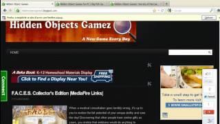 Hidden Object Games on mediafire links