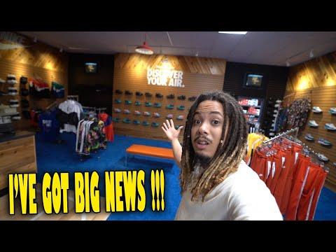 I GOT BIG NEWS   SNEAKER SHOPPING INSIDE A SECRET EXCLUSIVE FOOTLOCKER IN LA