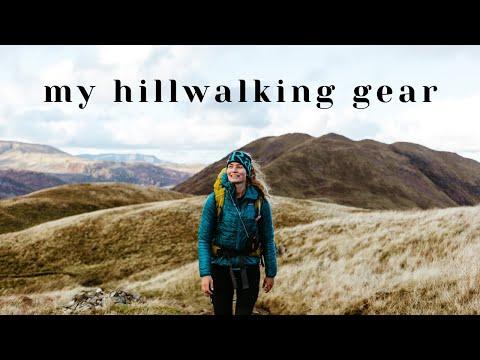 What I Wear for Hillwalking