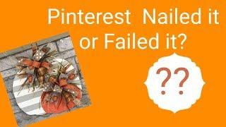 DIY Pinterest Nail it or Fail it