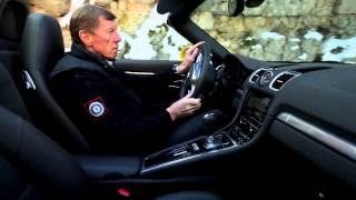 Walter Röhrl mit dem Porsche Boxster S auf den Spuren der Rallye Monte Carlo