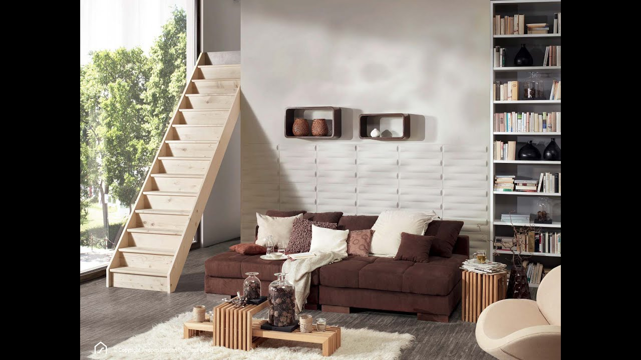 selbstmontage holztreppe casablanca ohne gel nder youtube. Black Bedroom Furniture Sets. Home Design Ideas