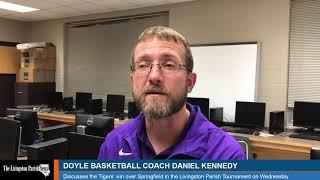 Doyle basketball coach Daniel Kennedy