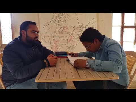 Interview of Income tax Inspector Devesh Sharma (AIR 380) by Ramavtar Nagar (ASO AFHQ)
