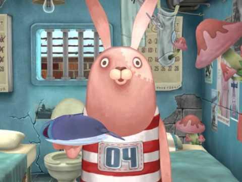 Мультфильм про зайцев в тюрьме