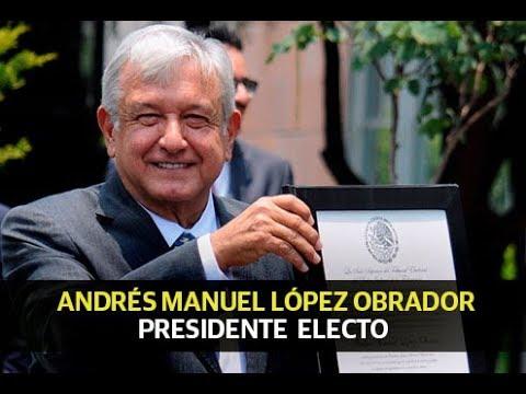 Andrés Manuel, presidente electo de México