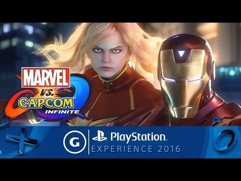 Marvel vs. Capcom: Infinite PSX 2016 Teaser Trailer