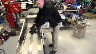 Ski-doo REV mod 700 build series Ep #11 U cooler bend and install!  PowerModz!