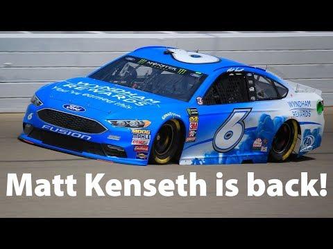 Matt Kenseth is back!