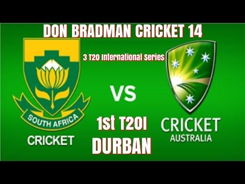 SOUTH AFRICA VS AUSTRALIA - 1ST T20I AT DURBAN