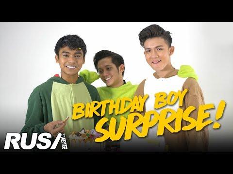 Surprise! Ariff Bahran Birthday Bash Bersama Haikal Farid & Shah Rezza!