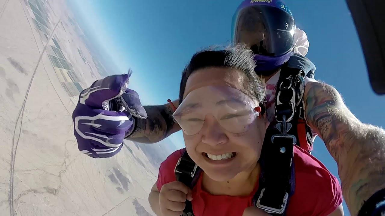 Lauren Phoenix Skydive Center Casa Grande Phoenix Arizona Skydiving Tandem Skydive Arizona Tandem Sk