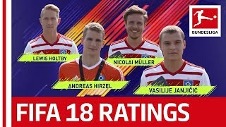 EA SPORTS FIFA 18 - Hamburger SV Players Rate Each Other