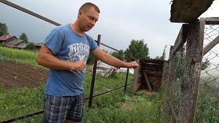 видео Дешевые заборы для дачи из профнастила и ограждения на фундаменте