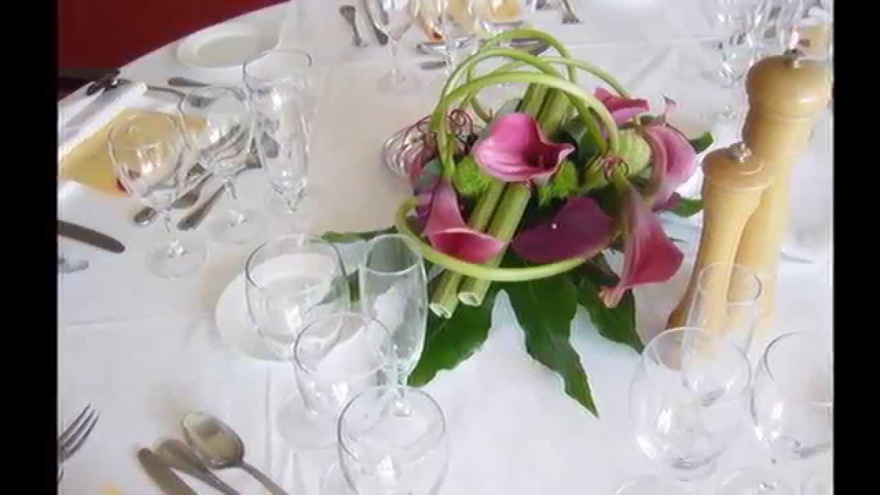 Centre de table mariage youtube Centre table mariage plage idees