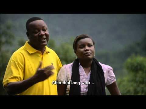 A couple from Angola visit the province of Kwa Zulu-Natal