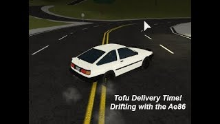 Tofu Delivery Time!| Drifting with the 86! | Vehicle Simulator Roblox #3