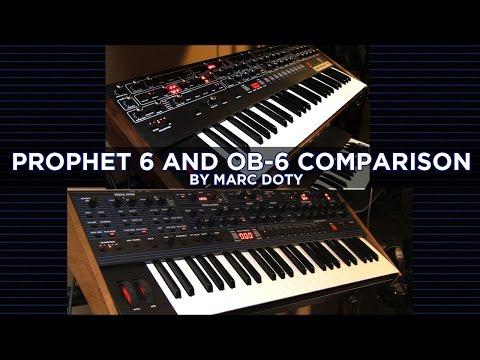 02-The DSI/Oberheim OB-6: Prophet 6 Comparison- Oscillators