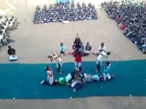 AJS NIDHI HSS SPORTS DAY (Pyramid girls)