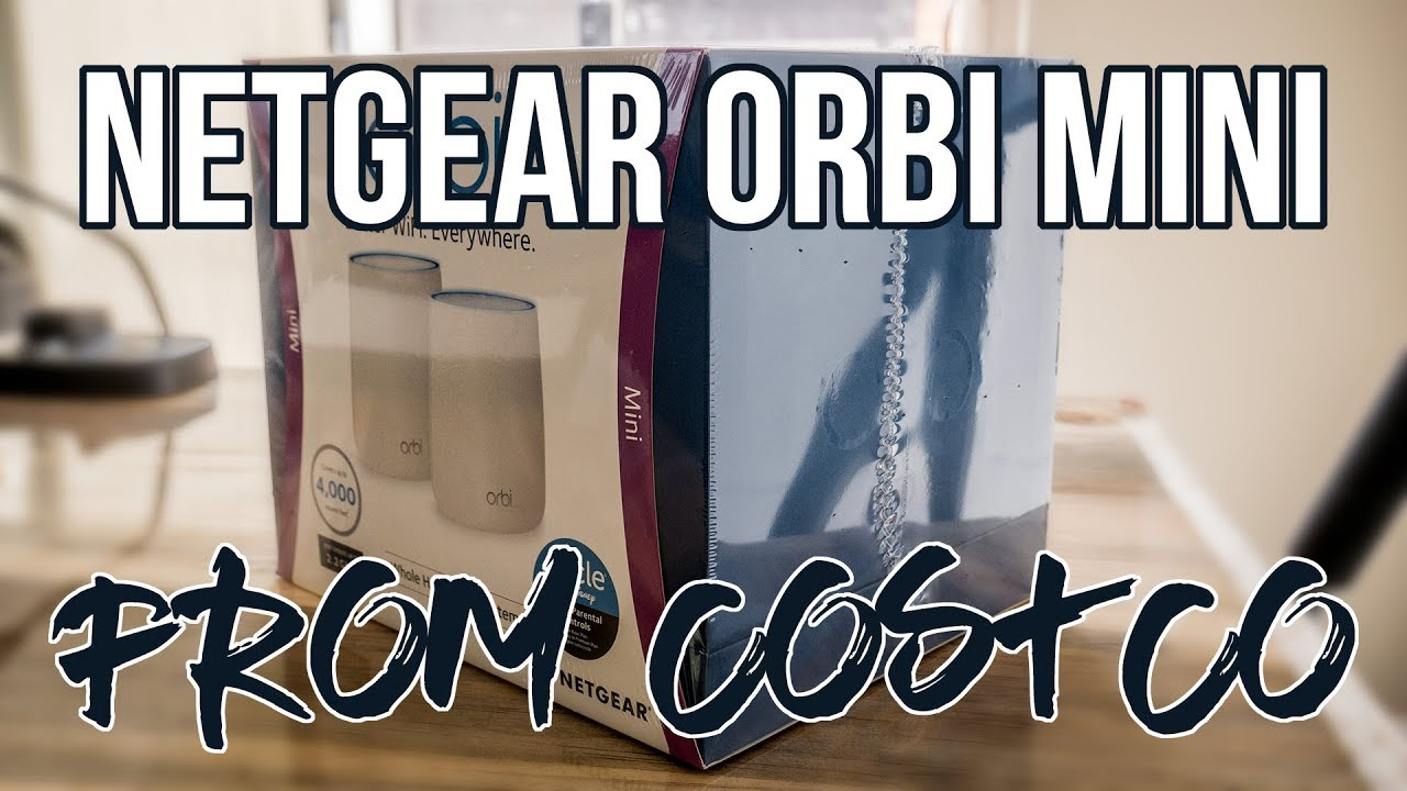 NETGEAR Orbi Mini RBK22 - Router from Costco - UNBOXING and Review