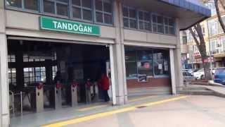 Tandoğan Subway Station In Ankara Turkey Anıtkabir :アタチュルク廟 最寄地下鉄駅