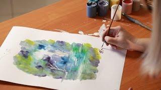 «Уроки рисования». Монотипия (15.01.2016)