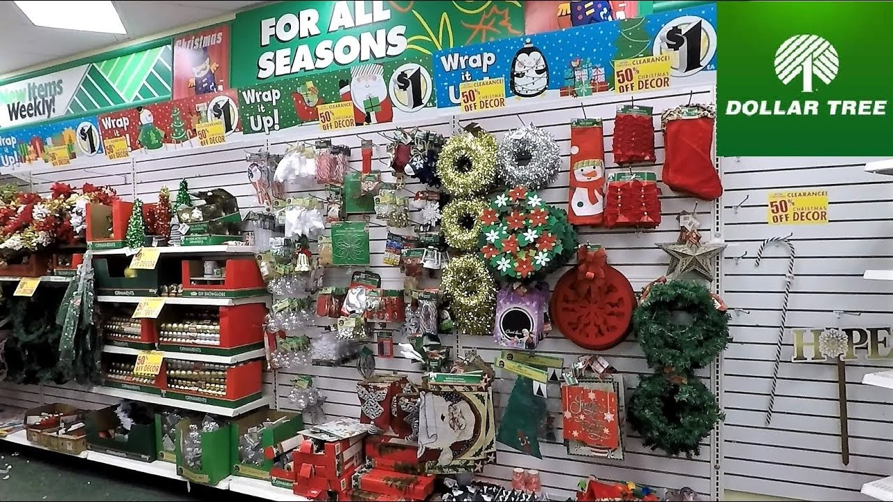 DOLLAR TREE AFTER CHRISTMAS CLEARANCE SALE 50% OFF ...