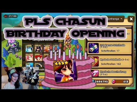 Birthday Opening MiJu / CHASUN FIEBER! || Summoners War [Deutsch/German]