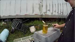 DIY citronella mosquito repelling