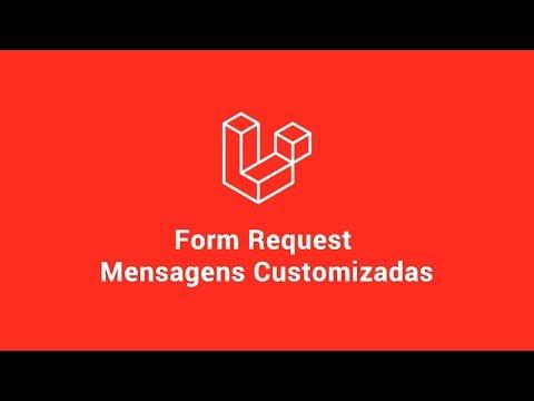 Vídeo no Youtube: [Laravel 6] - Traduzindo Mensagens de Validação no Form Requests #laravel #php
