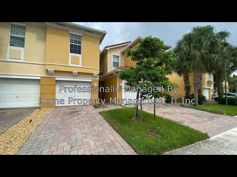 West Palm Beach Townhomes For Rent 3BR/2.5BA By West Palm Beach Property Management
