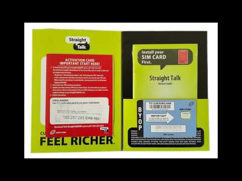 Sim card for unlocked gsm phone
