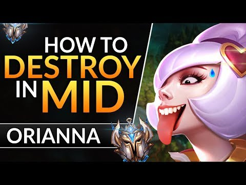 The ULTIMATE ORIANNA GUIDE: Best Tips and Tricks to CARRY and RANK UP   League of Legends Mid Guide