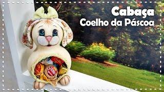 COELHO DA PÁSCOA EM CABAÇA