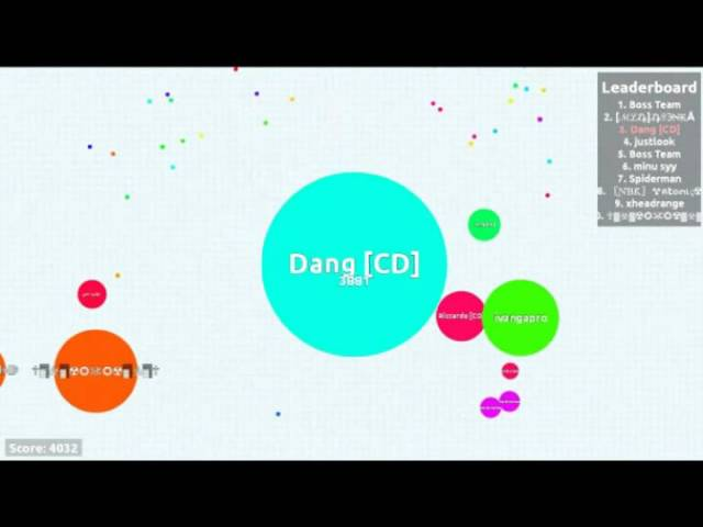 Funny Moments W/ Carpe Diem agar.io team