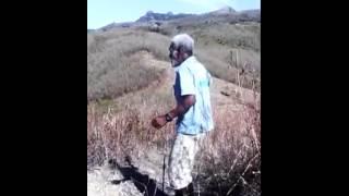 Fijian man dancing - funny