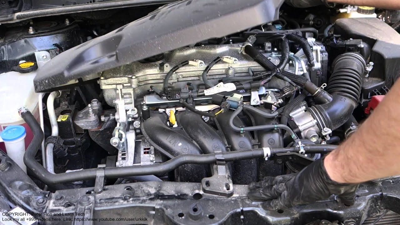 How to open Toyota Corolla valvematic engine cover. Years ...