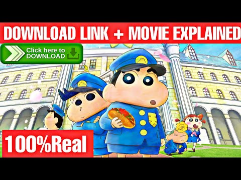 Download Shinchan New Movie 2021 Download + Explain | shrouded in mystery the flowers of tenkazu academy 💯