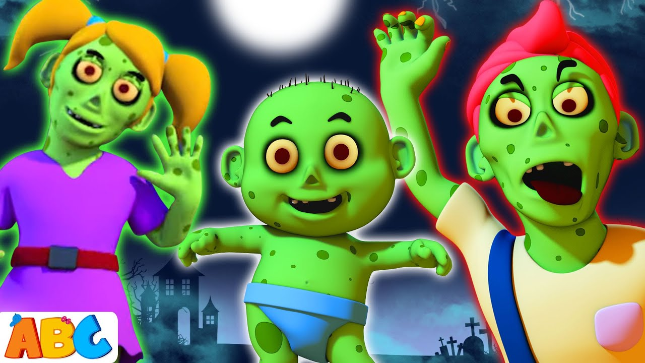 Zombie Finger Family Halloween Songs For Children All Babies Channel Youtube