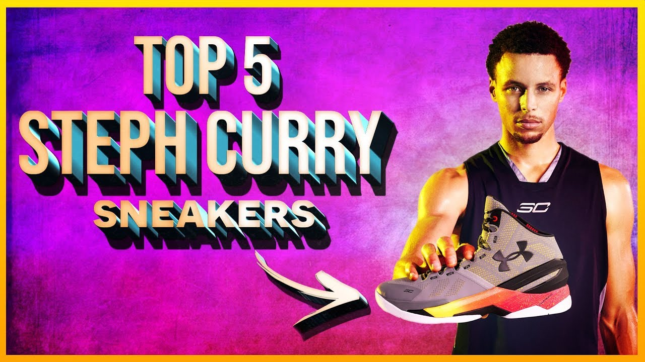 Top 5 Best Steph Curry Sneakers - YouTube