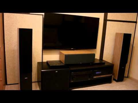 Домашний кинотеатр: Yamaha, Dynaudio, M&K Sound