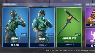 *NEW* REFLEX & INSTINCT SKINS! (Fortnite Item Shop 2nd March)