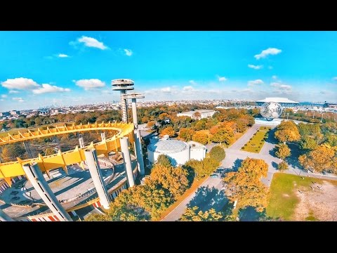 A day in Flushing Meadows Corona Park (FPV  Racing Drone)