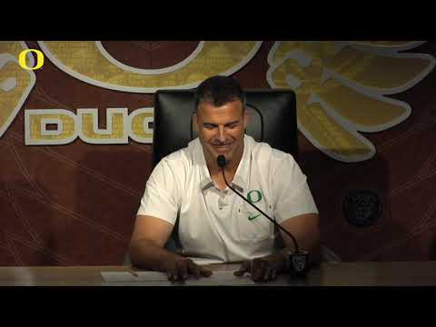 Oregon coach Mario Cristobal says Ducks are ready for Stanford, and the GameDay circus