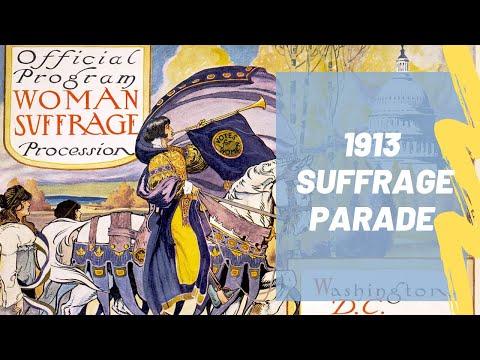 1913 Suffrage Parade in Washington D.C.