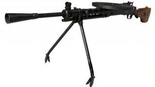 Охолощенное оружие: пулемет Дегтярева ДП-27-СХ