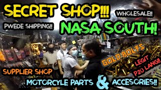 SUPPLIER SHOP NG GOLD BOLTS, MOTORCYLE PARTS AND ACCESORIES NASA SOUTH |SECRET SHOP NG MURANG PIYESA