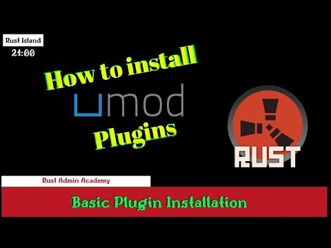 Rust How to Install Umod Plugins Tutorial 2019